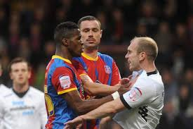 """""""Sorry Wilf, how was I to know it was your powerade? I just saw it by the pitch and knecked it"""""""