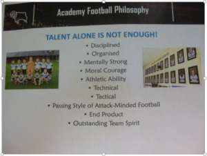 Self Explanatory. The Values which underpin the development of your young stars.